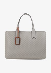 Emporio Armani - SOFT LOGO SHOPPER - Tote bag - grigio/blue - 4