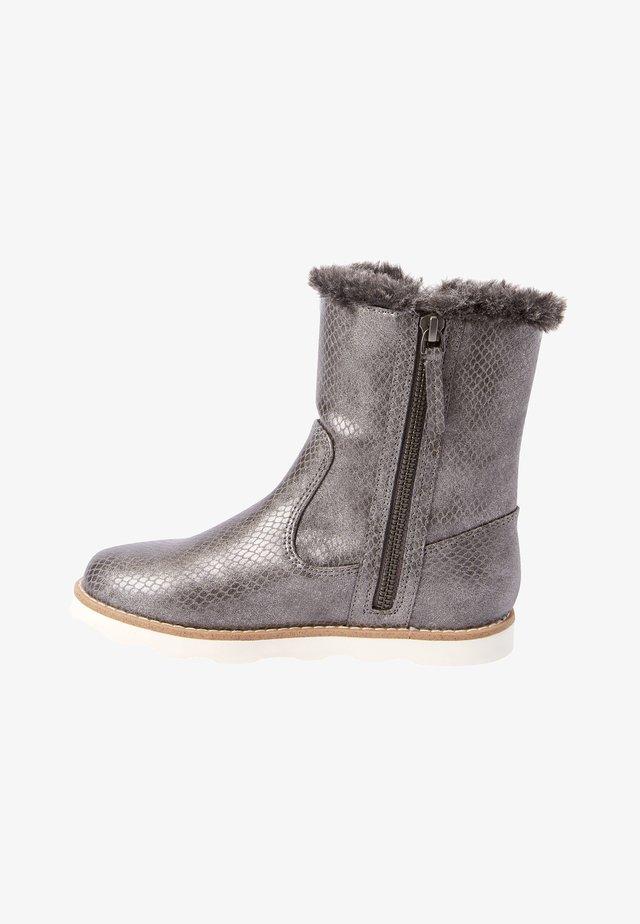 Vinterstøvler - metallic grey