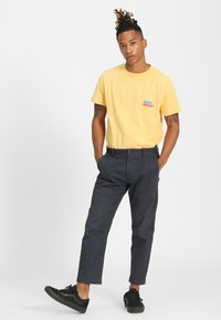 Forvert - TIMO - Print T-shirt - yellow - 1
