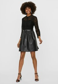 Vero Moda - Shirt dress - black - 1