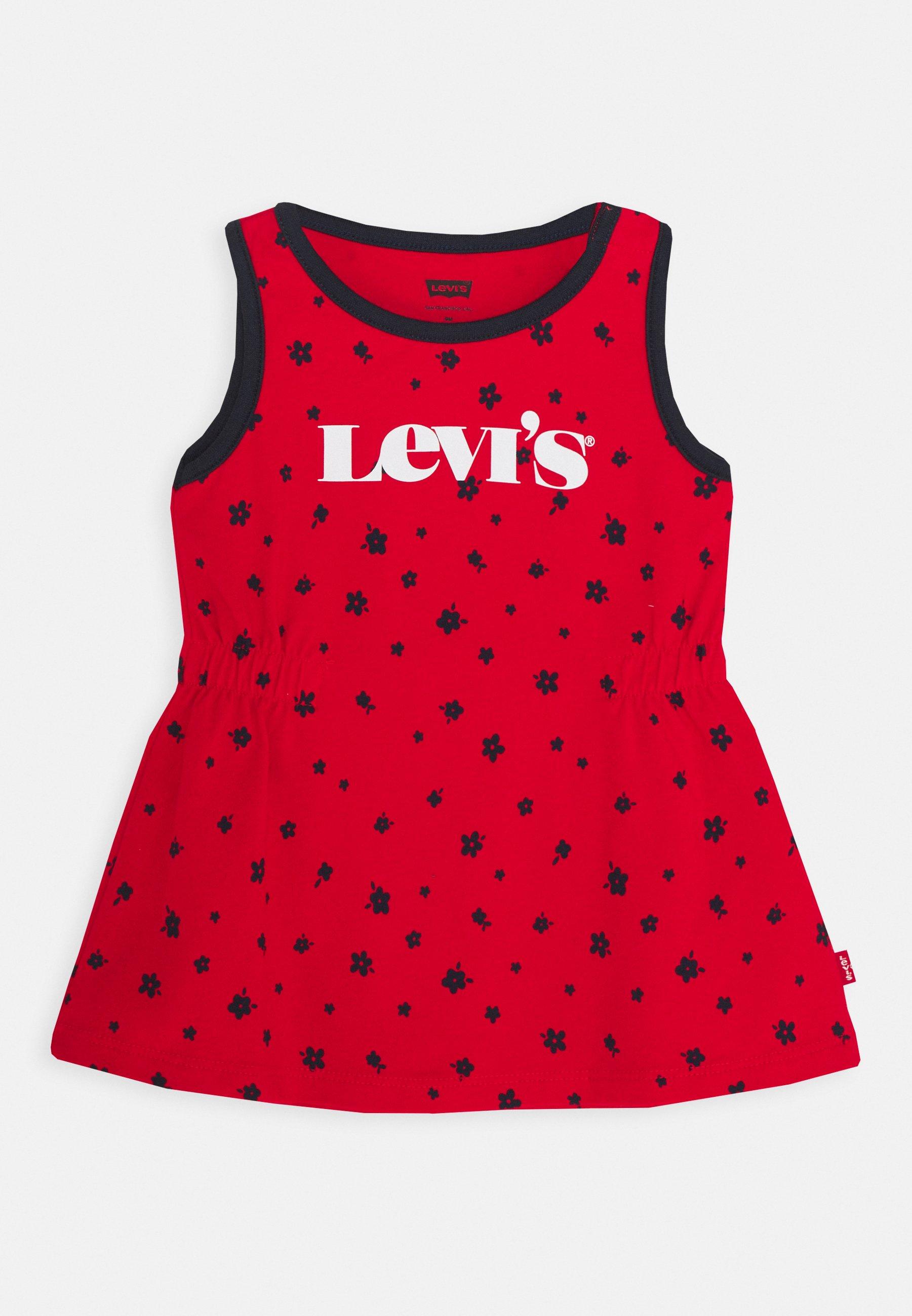 Kids RINGER TANK DRESS - Jersey dress