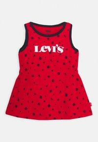 Levi's® - RINGER TANK DRESS - Jersey dress - super red - 0
