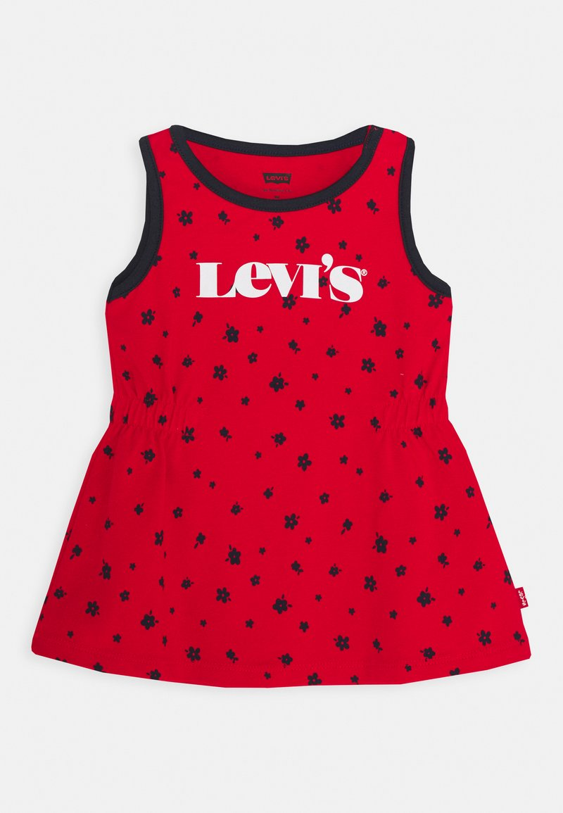 Levi's® - RINGER TANK DRESS - Jersey dress - super red