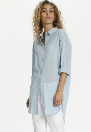 DHTIA - Button-down blouse - cashmere blue