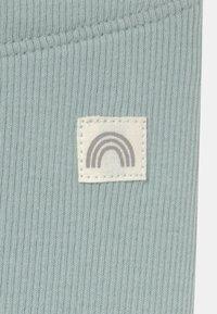 Lindex - SOLID 2 PACK UNISEX - Leggings - Trousers - light dusty aqua - 5