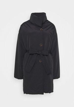 NELL PUFF COAT - Klasický kabát - black