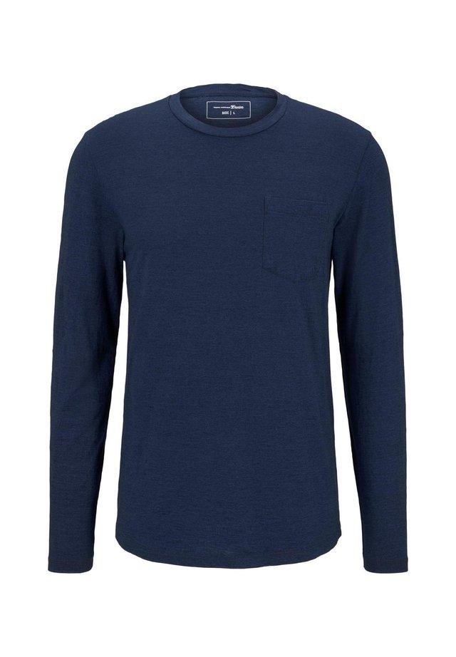TOM TAILOR DENIM Herren Print Langarmshirt T-Shirt