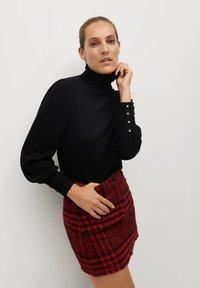 Mango - ANNA - A-line skirt - rouge - 3
