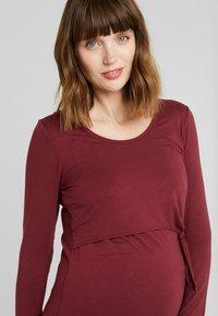 Esprit Maternity - NURSING - Longsleeve - garnet red - 3
