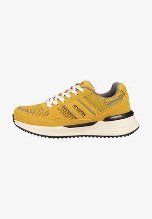 Trainers - gelb/schwarz