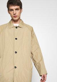 Weekday - BARCLAY TECH COAT - Classic coat - beige - 3
