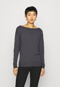 Sisley - Jumper - dark grey - 0