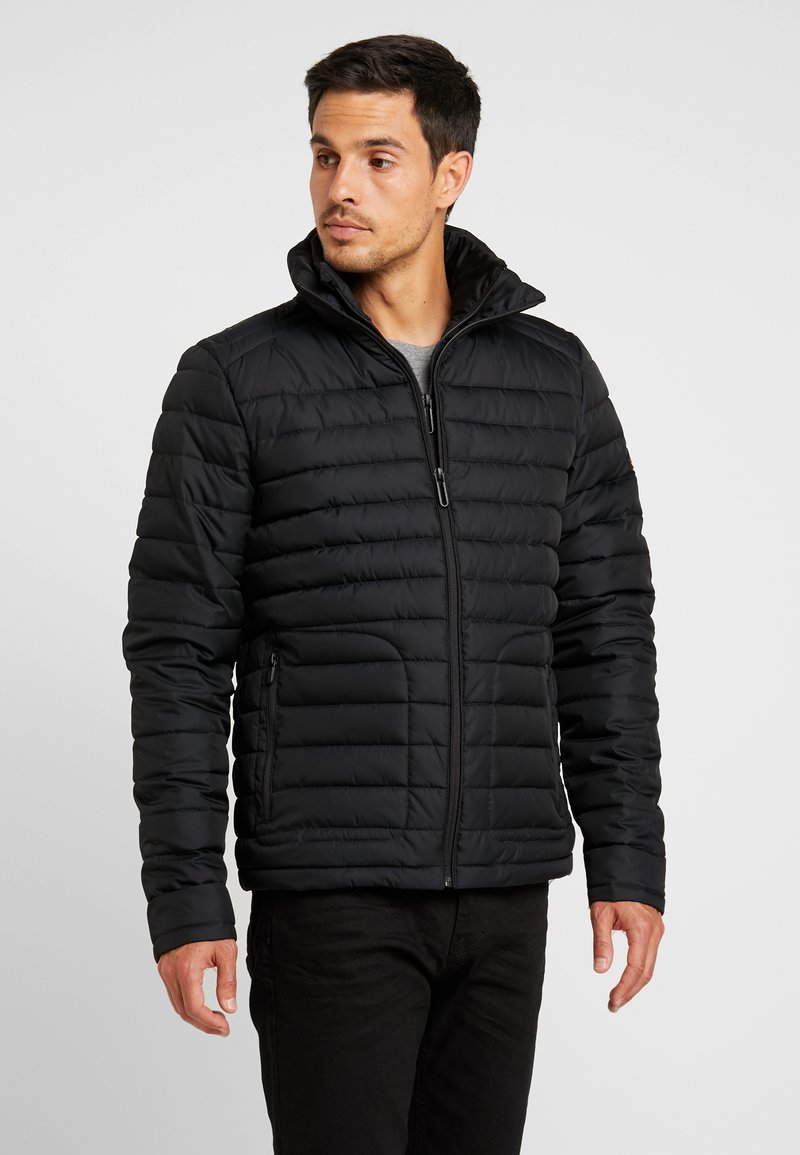 Superdry - FUJI - Winterjas - washed black