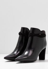 PERLATO - High heeled ankle boots - noir - 4