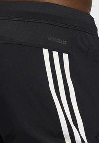 adidas Performance - AERO 3S PNT - Spodnie treningowe - black/white - 3