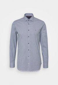 FLEX MINI GEO PRINT SLIM - Shirt - navy/white