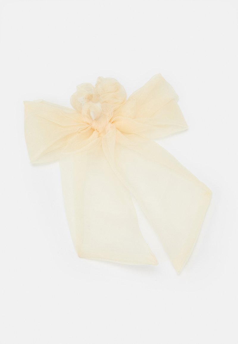 Topshop - OVERSIZED BOW SET - Hair Styling Accessory - cream