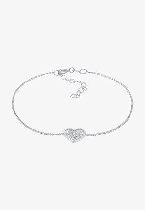 HEART - Bracelet - silber