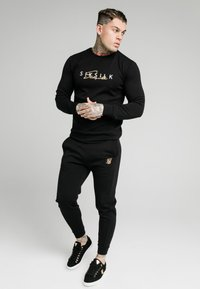 SIKSILK - SIGNATURE TRACK PANTS - Jogginghose - black - 1