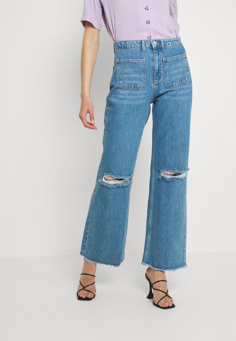 Trendyol - MAVI - Jeans relaxed fit - blue