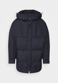 Henrik Vibskov - TILES LONG COAT - Winter jacket - navy - 13