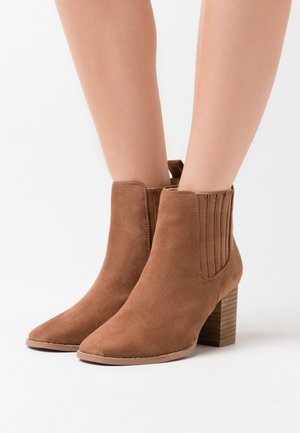 PETRA GUSSET - Ankle boot - tan