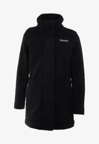 Columbia - PANORAMA LONG JACKET - Forro polar - black - 3