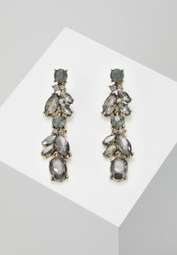 Pieces - PCJUDY EARRINGS KEY - Orecchini - gold-coloured/grey - 0