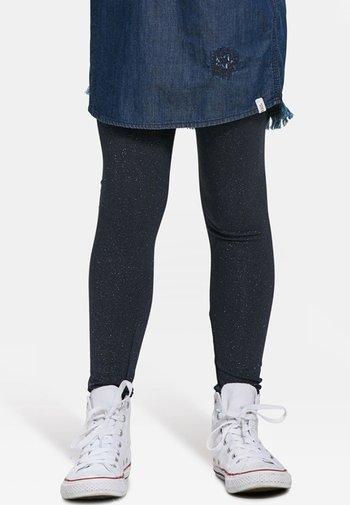 GLITTER - Legging - dark blue