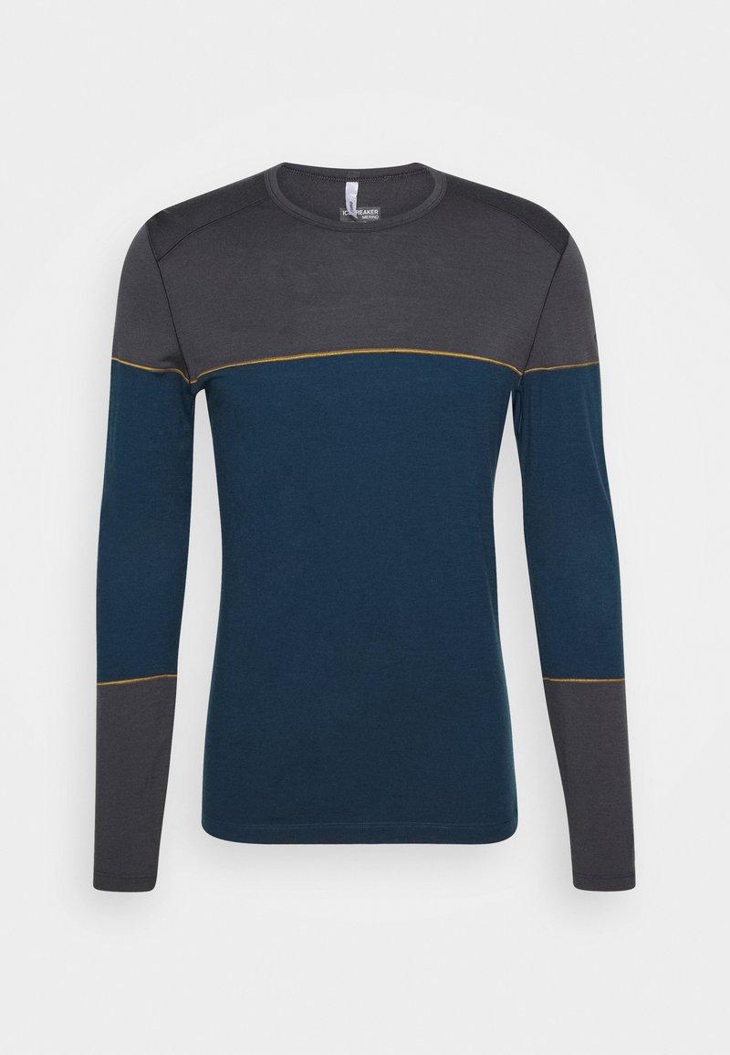 Icebreaker - DELUXE CREWE - Sports shirt - nightfall