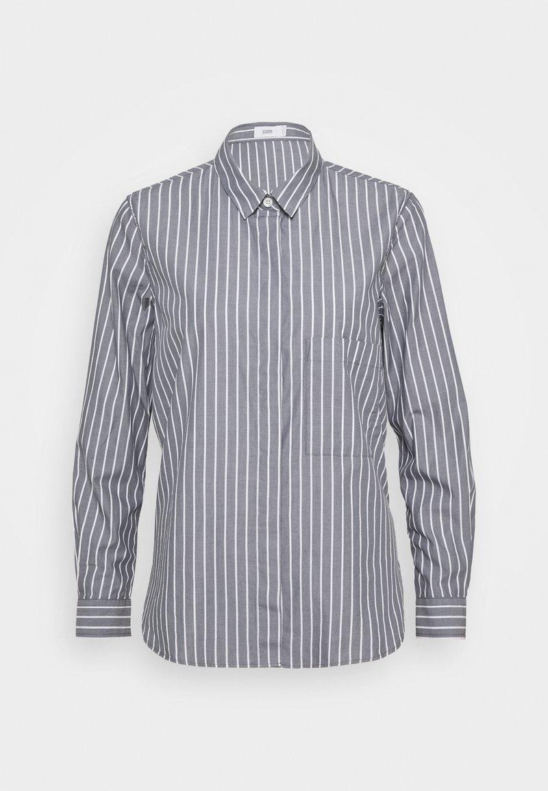 CLOSED - HAILEY - Button-down blouse - light grey melange