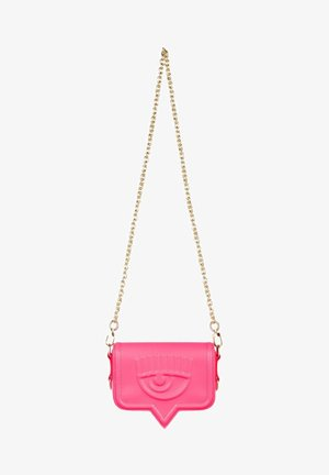 SMOOTH  - Across body bag - rosa fluo