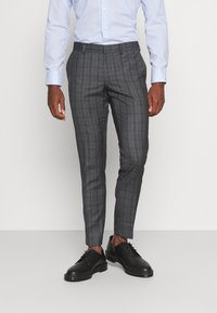 Isaac Dewhirst - CHECK SUIT - Oblek - blue - 4