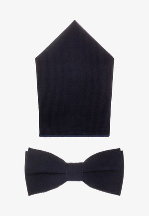 ONSTBOX THEO BOW TIE HANKERCHIEF SET - Kapesník do obleku - dark navy