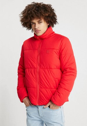 BOXY PUFFER JACKET - Winter jacket - firered
