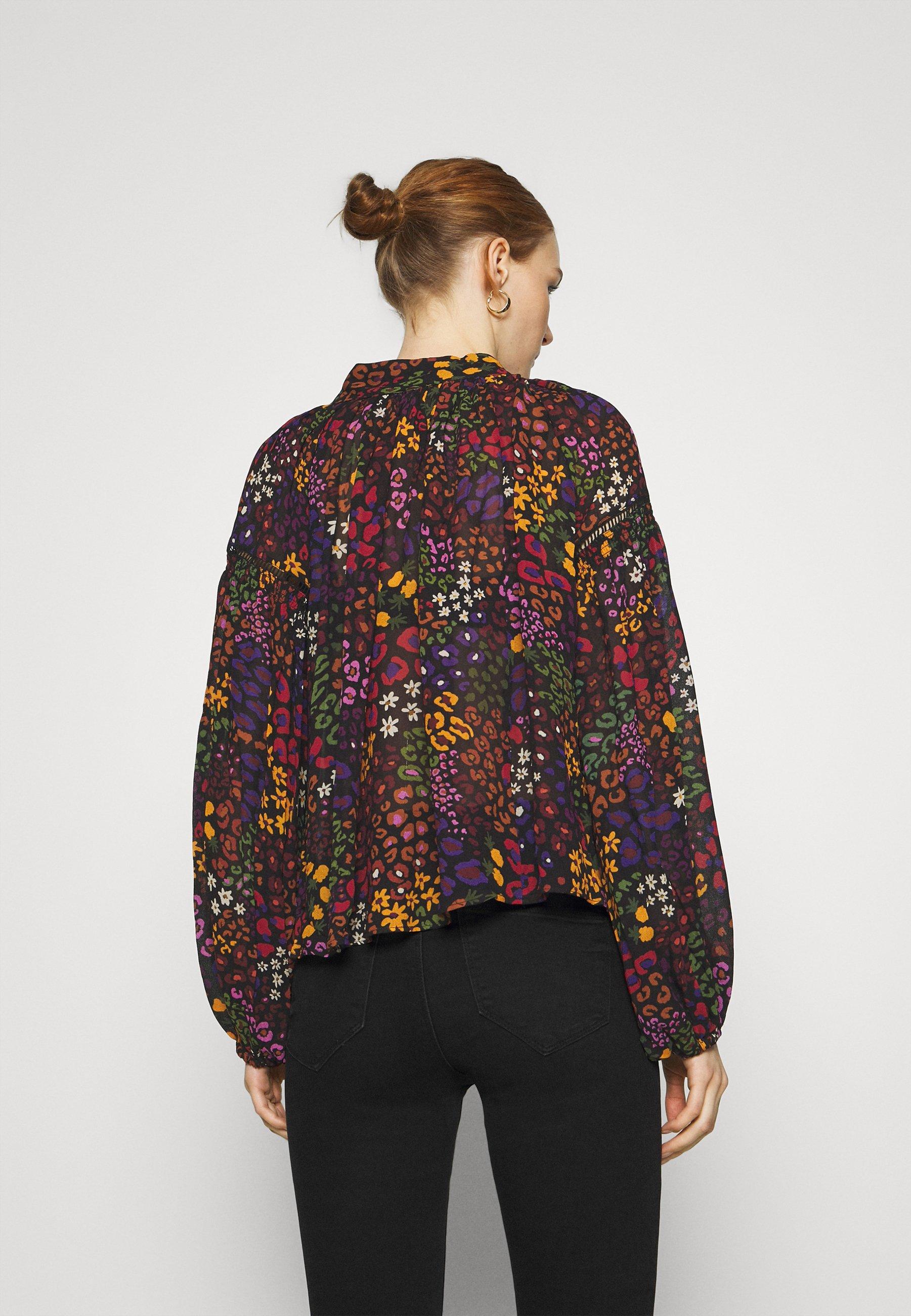Women WILD MIX BLOUSE - Long sleeved top