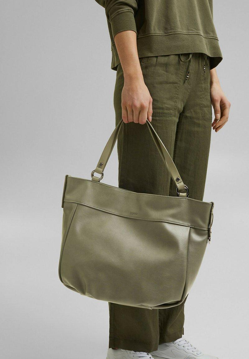 Esprit - FASHION - Tote bag - olive