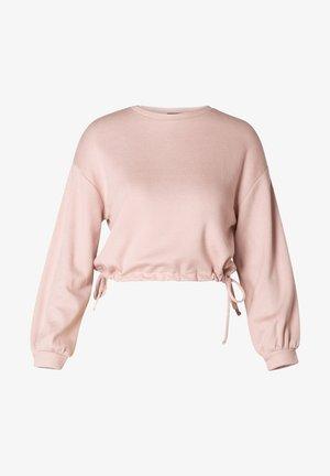 Sweater - misty rose