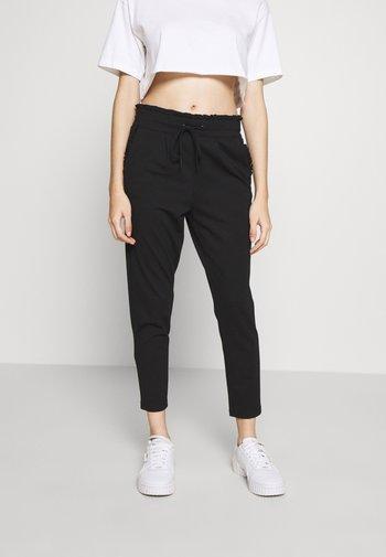 ONLPOPTRASH EASY FRILL PANT - Bukse - black