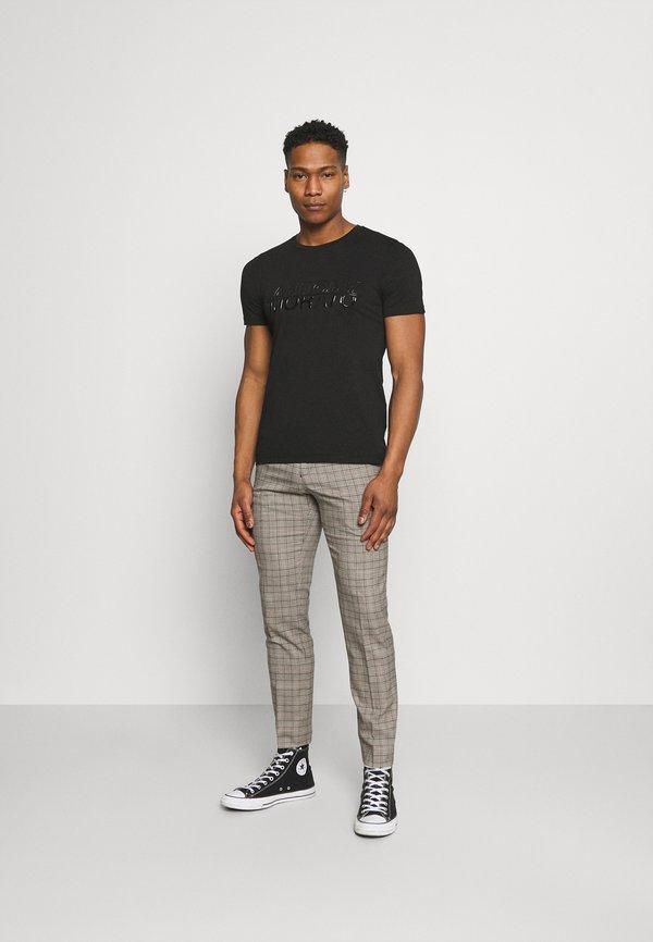 Antony Morato WITH LOGO - T-shirt z nadrukiem - nero/czarny Odzież Męska LMGU