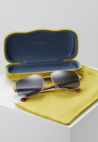 Gucci - Sunglasses - gold-coloured/crystal/grey - 2