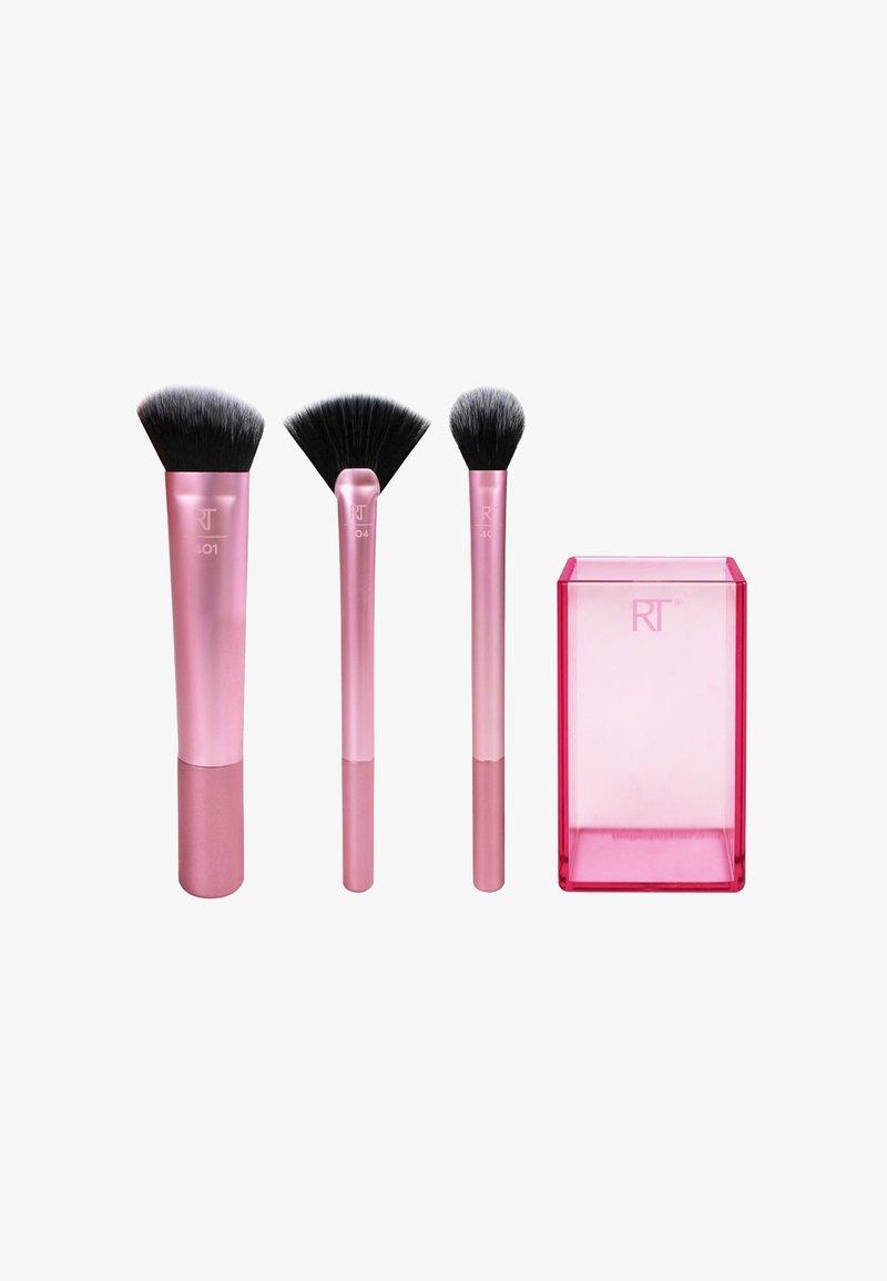 Real Techniques - SCULPTING SET - Makeup brush - -