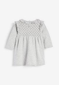 Next - Gebreide jurk - grey - 1