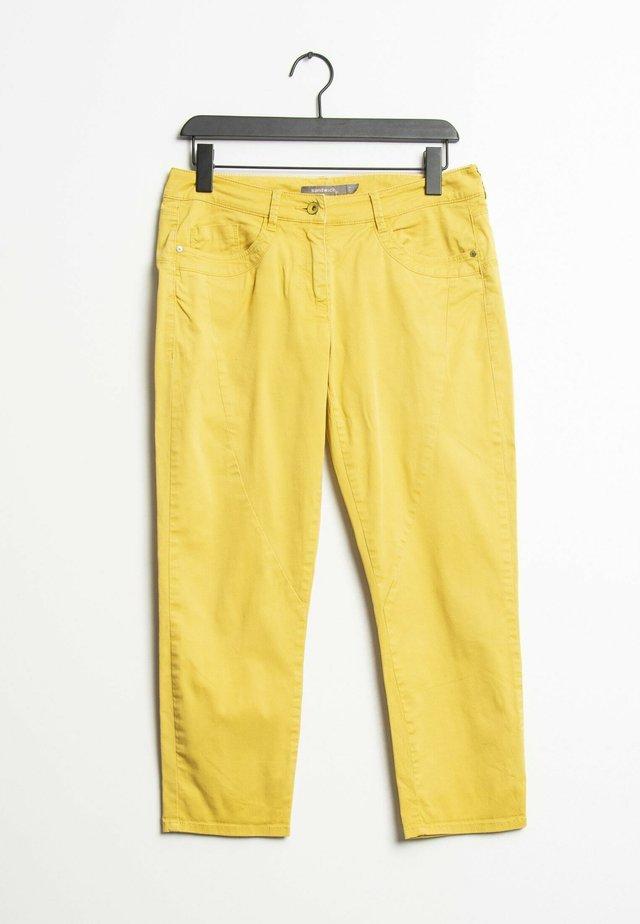 Straight leg jeans - yellow