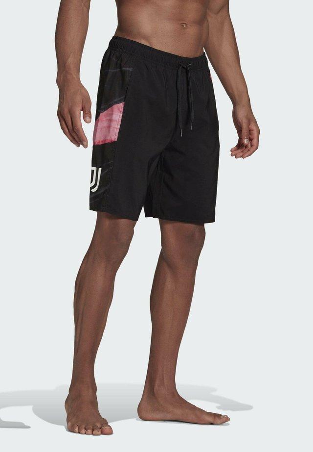 JUVENTUS TURIN SWIM SHORTS - Swimming shorts - black
