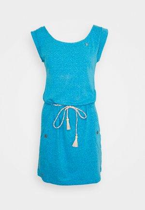 Jersey dress - hellblau
