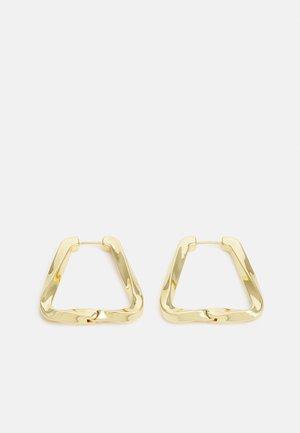 Uhani - gold-coloured