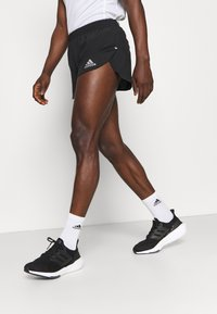adidas Performance - FAST SPLIT - Sports shorts - black - 3