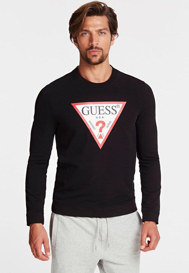 SWEATSHIRT LOGODREIECK - Sweatshirt - black