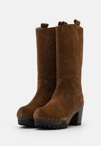 Softclox - Platform boots - brown - 2